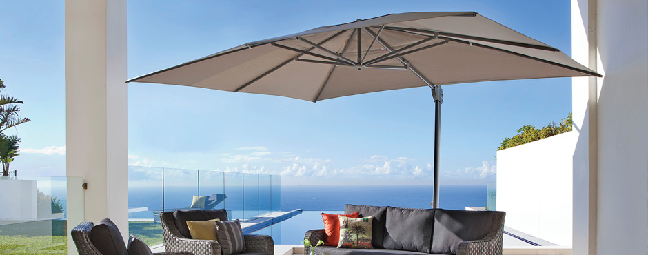 Check out our range of Sidepost Umbrellas here!